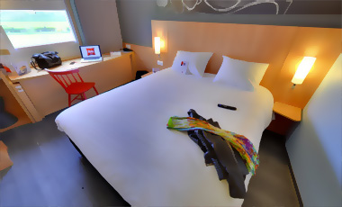 Hotel ibis les herbiers chambre